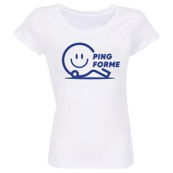 Pack de 5 T-shirts Femme BLANC Taille L Label Ping Forme