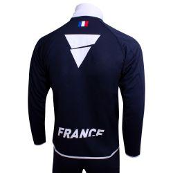 Veste de Survetement Officiel MARINE Equipe de France